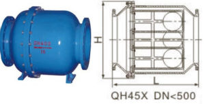 (QH45X) Multiple Ball Disc One Way Non Return Check Valve pictures & photos