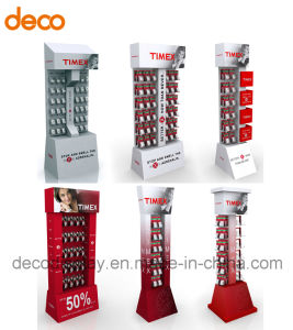 Cardboard Paper Display Stand Floor Display Shelf for Retail pictures & photos