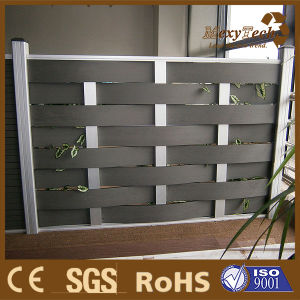 WPC 100% Recycled WPC Wall Panel Plastic Garden Fence Composite Fance Panel pictures & photos