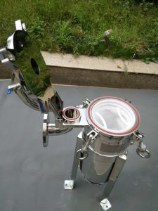 Cheap Price stainless Steel Top Entry Bag Filter Housing pictures & photos