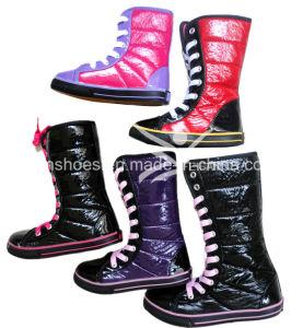 Good Quality Children Warm Snow Boots Wholesale (HH009) pictures & photos