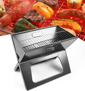 Factory Supply Outdoor Folding Portable BBQ Charcoal Grill pictures & photos