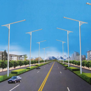 High Quality Long Duration Time 100 Watt Solar Street Lights with Ce&ISO IP65 pictures & photos