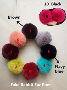 High Qualtiy Fur POM POM Keychain Fur Ball Bag Charms pictures & photos