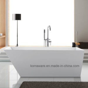 New Design Acrylic Freestanding Bathtub of Manufacturer in Foshan pictures & photos