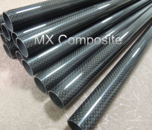 Hot Sale High Strength 3k Carbon Fiber Tube (dia. 36*40mm) pictures & photos