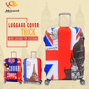Factory Price Convenient Pattern Printed Suitcase Luggage Cover pictures & photos