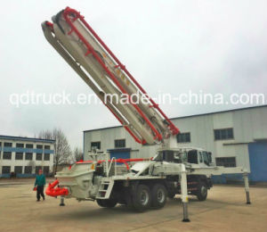 FAW 8X4 42M Concrete Pump Truck (CA3310P2K15T4YA80) pictures & photos
