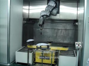 Turnkey Robot Automatic Spray Painting Plant for Auto Lamps pictures & photos