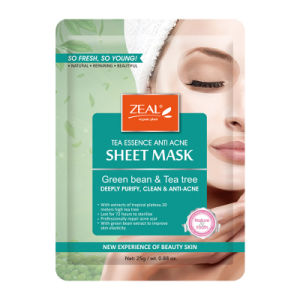 Zeal Rose & Pearl Hydrating & Brightening Sheet Mask 25ml pictures & photos