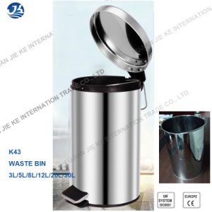 High Quality Full Stainless Steel Trash Can 30L