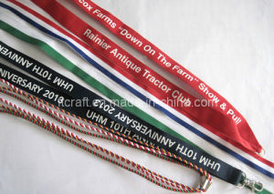 Promotional Logo Webbing Lanyard for Medal pictures & photos
