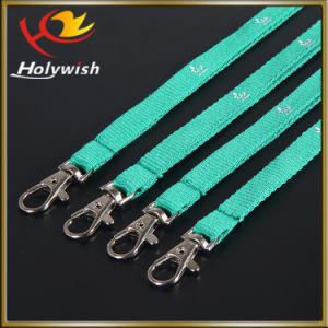 Professional Manufacture Custom Printed Short Lanyard with Logo pictures & photos