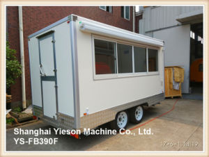 Ys-Fb390f Coffee Trailer Food Cart Trailer Food Truck for Sale pictures & photos
