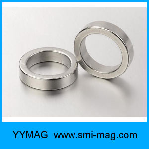 N35 Axial Magnetized NdFeB Ring Magnets for Sale pictures & photos