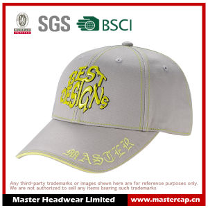Cotton/Spandex Stretch Fitted Cap with PVC Embossed pictures & photos