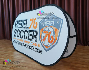 Dye Sublamtion Printed Promotional Sports Event Display Pop Up Banner pictures & photos