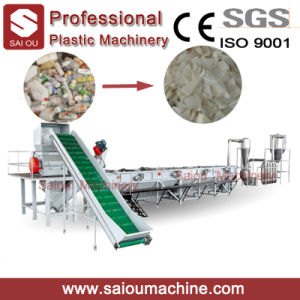 LDPE Film Recycling Line/Waste Plastic Washing Crushing Drying Line pictures & photos