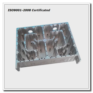 CNC Machining Filter Housing, CNC Machined Aluminum Cavity pictures & photos