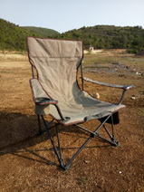 Multifunctional Oxford Gauze Chair Outdoor Folding Chair Nap Bed Chair Camping Leisure Chair Fishing Chair