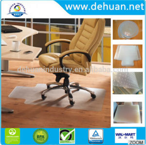 Anti-Slip Custom PVC Floor Mat / PVC Chair Mat pictures & photos