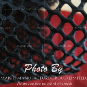 Extruded HDPE Plastic Mesh for Metal Pipeline Protection pictures & photos