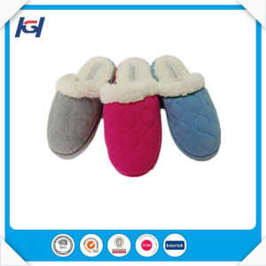 Cheap Wholesale Warm Winter Indoor Bulk Slippers for Women pictures & photos