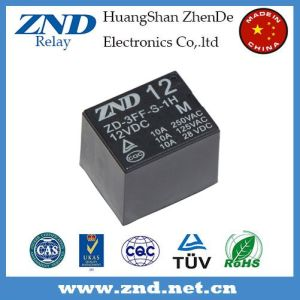 T73 (3FF) Power Relay 10A 12V Electromagnetic Relay 4pins Ma pictures & photos