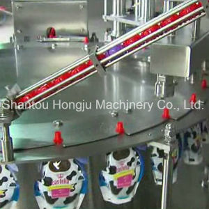 Automatic Special Shaped Pouch Filling Machinery for Milk pictures & photos