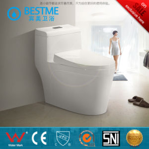 Cheap Price One Piece Ceramic Toilet pictures & photos