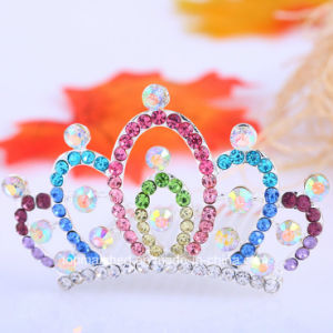 Bride Hairband Creative Children Crown Diamond Rhinestones Hair Accessories pictures & photos