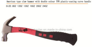 Good Quality Claw Hammer with Curve TPR Handle pictures & photos