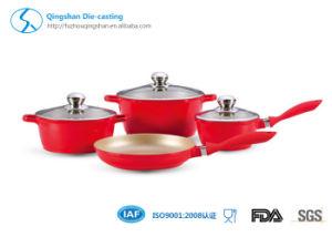 Non-Stick Ceramic Coated Aluminum Sauce Pot Energy-Saving Pot pictures & photos