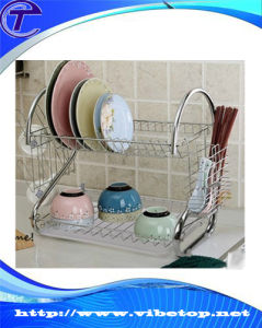 New Style Stainless Steel Kitchen Dish Drying Rack pictures & photos