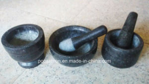 LFGB Approved Stone Mortar and Pestle Supplier pictures & photos