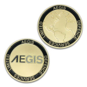 High Quality Cheap Metal Enamel Souvenir Iron Coin Lock Trolley pictures & photos
