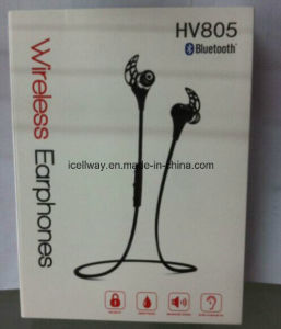 Wireless Mini Very Light Invisible Bluetooth Earphone with Good Chipset and High Quality Hv-805 pictures & photos
