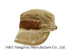Military Cap, Cotton Washed Cap, Fashion Cap, Leisure Cap, Military Hat pictures & photos