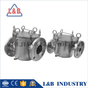 Industrial Basket Type Magnetic Water Filter pictures & photos