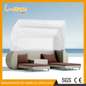 Outdoor Pool Beach Garden Furniture Rattan Lying Bed Sunbed Longer Deck Chair pictures & photos
