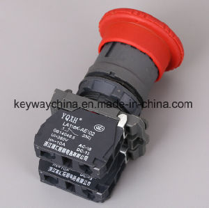 22mm Emergency Mushroom Type Push Button Switch pictures & photos