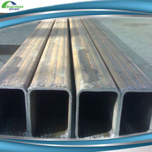 China Black Welded ERW Steel Pipes pictures & photos