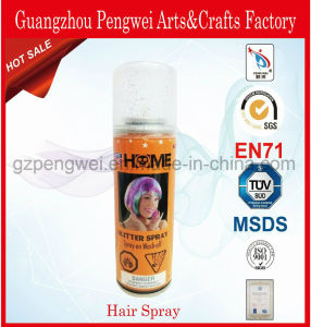Hot Sale 420ml Colorful Aerosol Hair Spray pictures & photos
