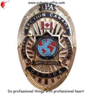 OEM Customized Metal Emblem for Clothing (YH-MP006) pictures & photos