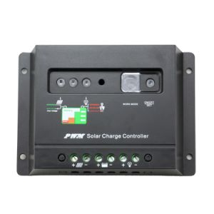 20A 12V/24V Solar Charger Discharger Controller with LED Indicator Battery Charging Status 20I pictures & photos