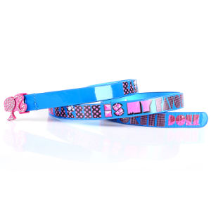 Blue Color Girl Belt Fashion PU Leather Girls Belt (RS-050609) pictures & photos