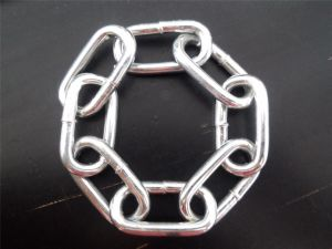 DIN766 Electric Galvanized Steel Link Chain 10mm pictures & photos