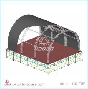 Circular Arch Roof Truss Aluminum Truss pictures & photos
