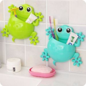Hot Selling Plastic Toothbrush Holder Bathroom accessory Wall Mounted pictures & photos