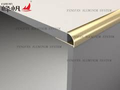 Aluminum Round Edge Trim for Ceramic Tile pictures & photos